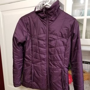 Columbia omni heat quilted fall jacket